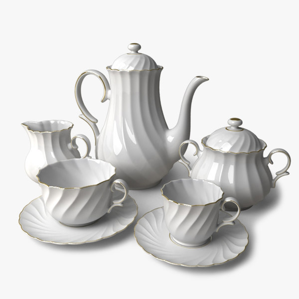 max porcelain coffee tea set