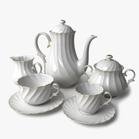 max porcelain coffee tea set