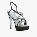 high heel sandals 3D models