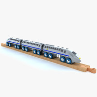 3ds max kids train toy 4