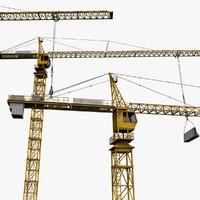 tower crane 3ds