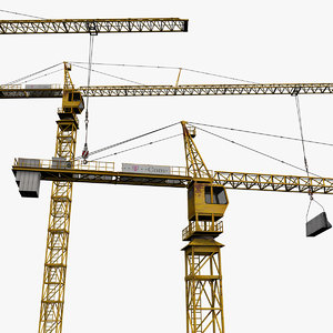 tower crane 3ds