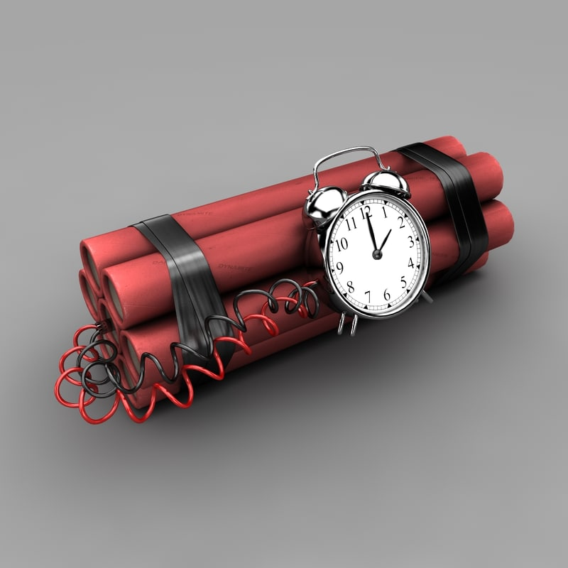 3d max time bomb