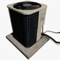 Large Exterior Air Conditioner