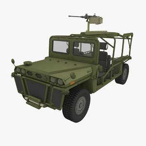 growler vehicle itv 3d c4d
