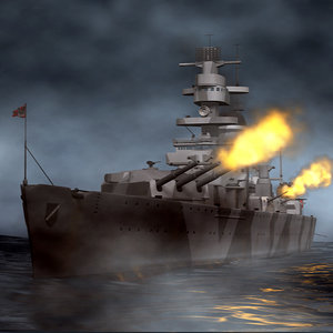 c4d german battleship admiral scheer