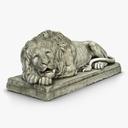 lion statue 3D models