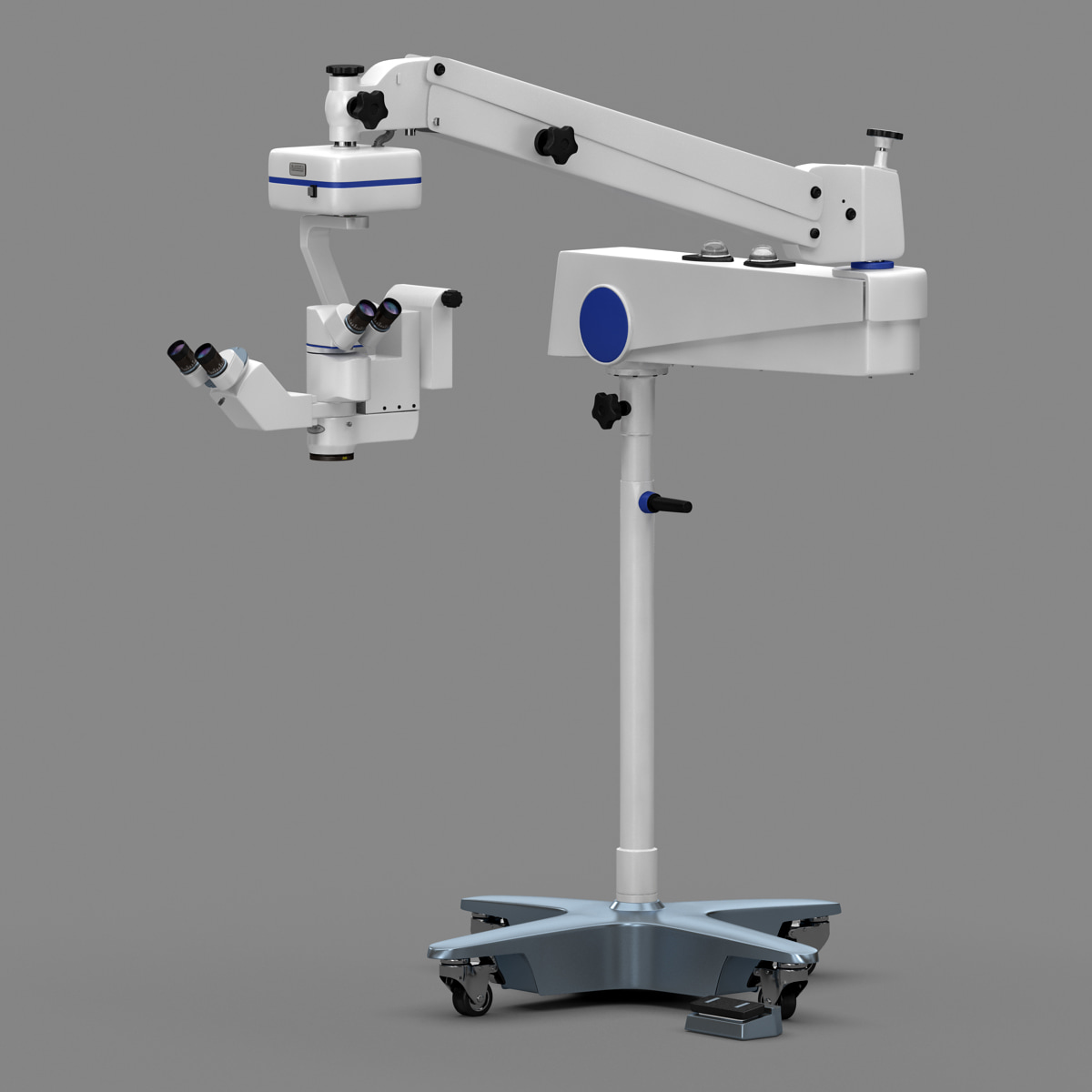 3d model of surgical microscope asom 4