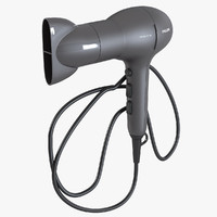 philips hairdryer 3d 3ds