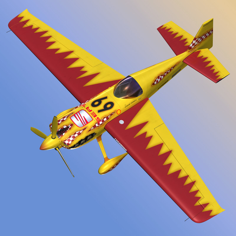 zivko edge 540 aerobatic 3d model