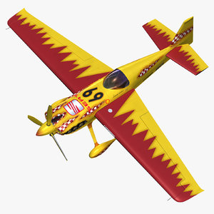 zivko edge 540 aerobatic 3d model