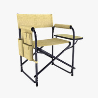 folding chair 3ds