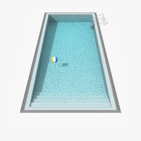 Pool 3d models for download turbosquid for Swimming pool 3d model free download
