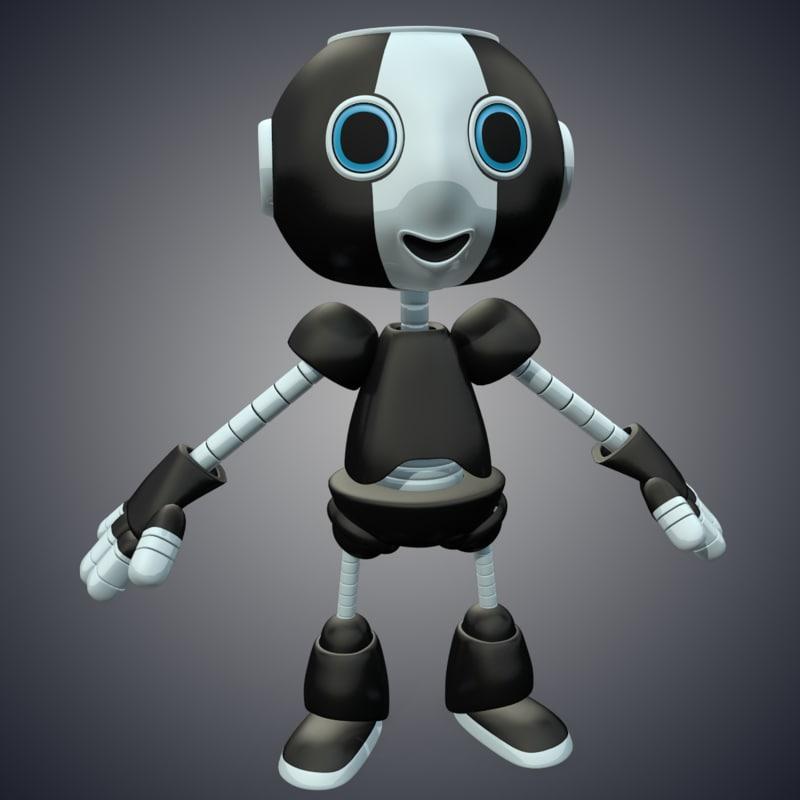 max cute robot