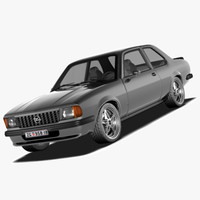 3d model opel ascona