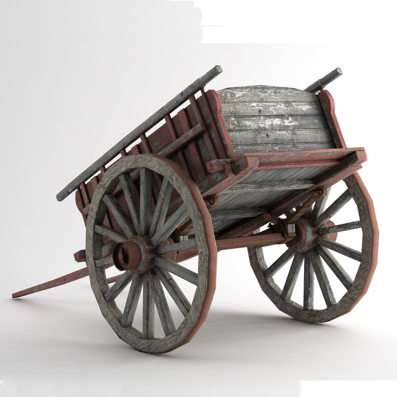 old carriage 3ds