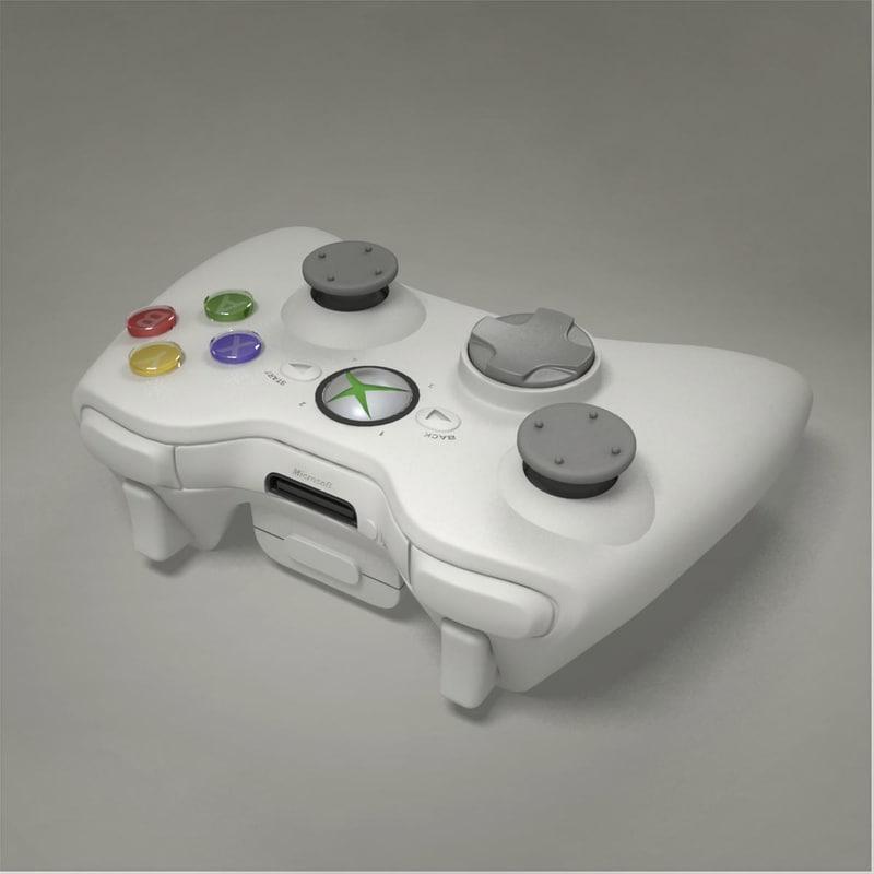 xbox joystick 3d max