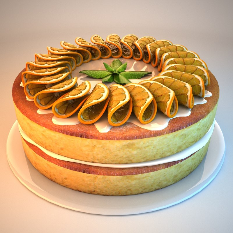 max cake oranges