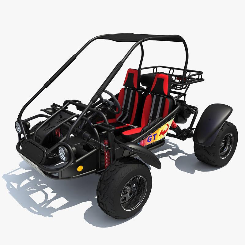 3d road buggy hammerhead