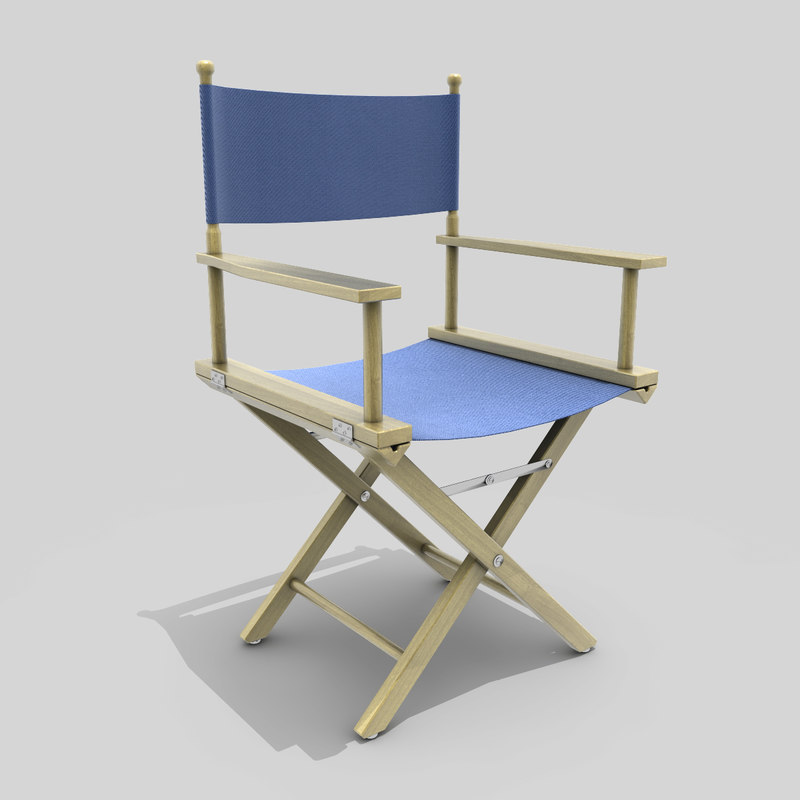 3ds max director s chair