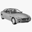 Quattroporte 3D models