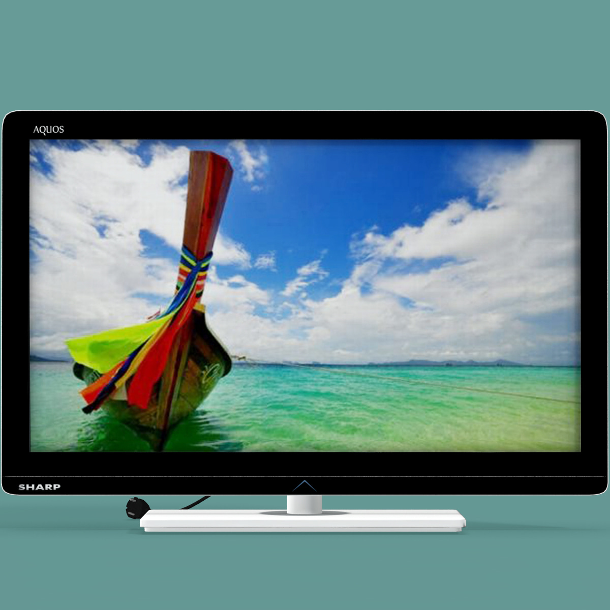 3d model tv sharp lc-37le320e