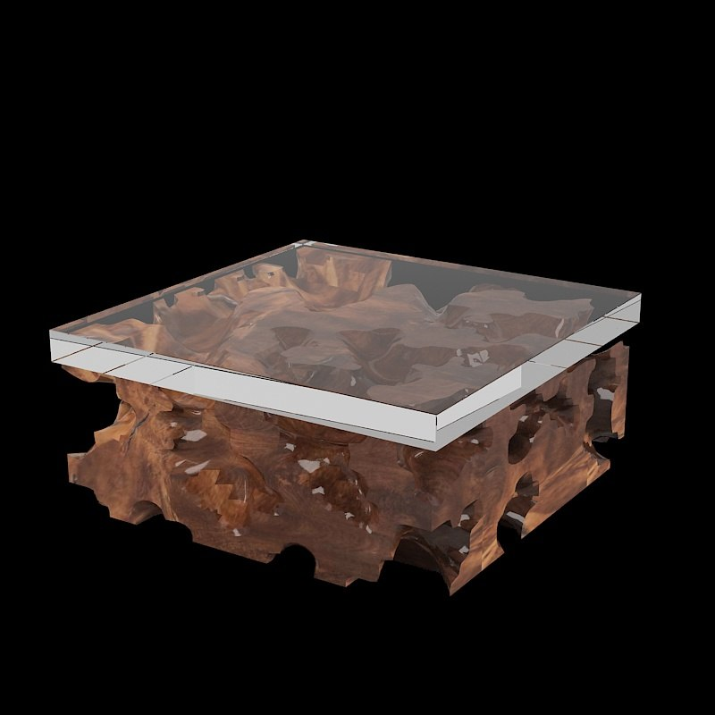 Hudson Furniture Teak Root 3d Model