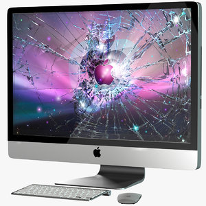 apple imac 27 obj