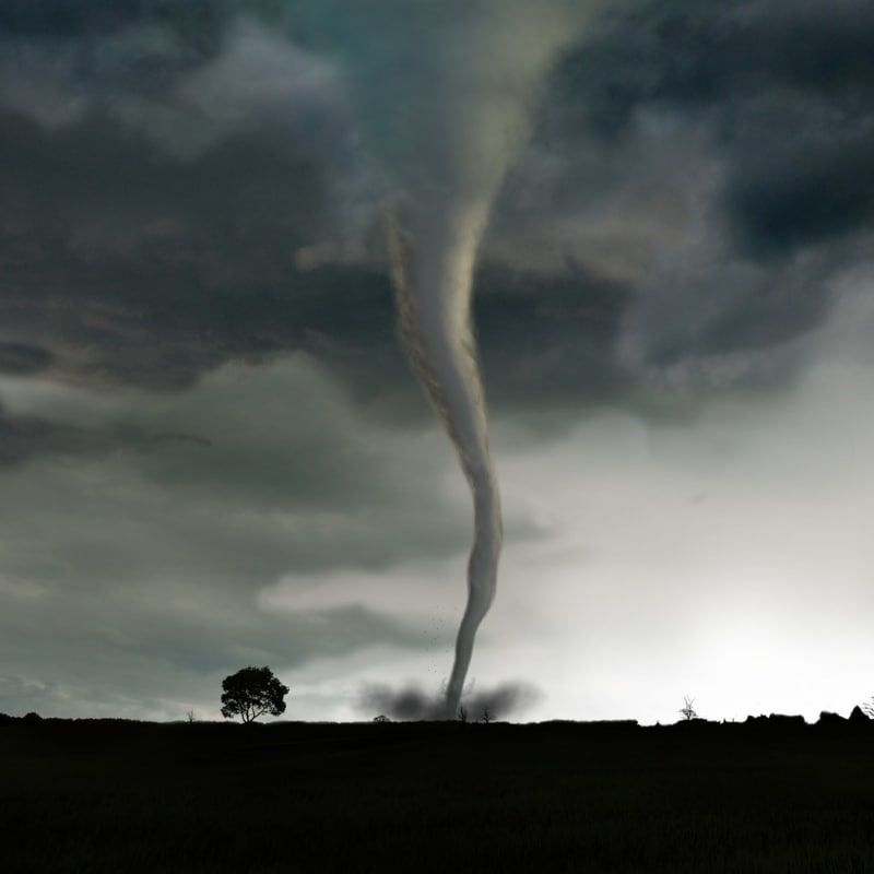 tornado rigged animation max