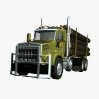 Kenworth T800 Logger