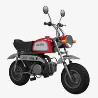 skyteam gorilla minibike 3d model