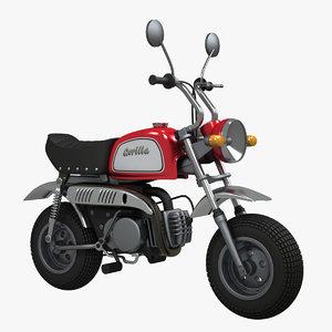 skyteam gorilla minibike 3d model