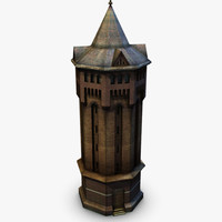 3ds max london shooters hill water tower