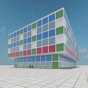 building 10 3d max