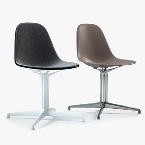 3d charles eames plastic chair