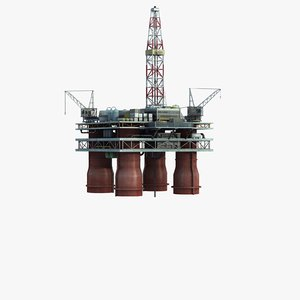 max offshore oil drilling platform