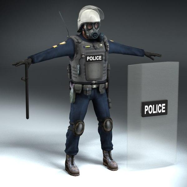 Riot Policeman LW