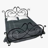 Wrought Iron Bed 4