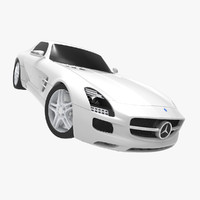 3ds max mercedes benz sls