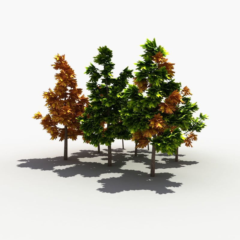 modelled tree 3d max