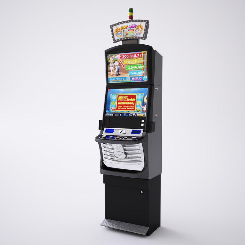 3d max atronic oxygen casino slot