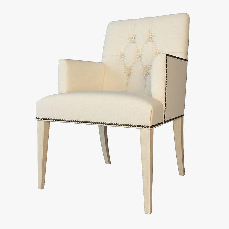 baker armchair 7847 max