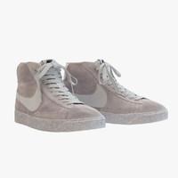 Nike - Mid Blazer Grey