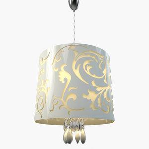 3d model of favel lamp
