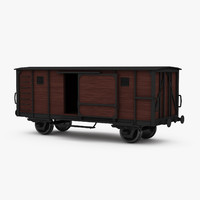 Covered Boxcar