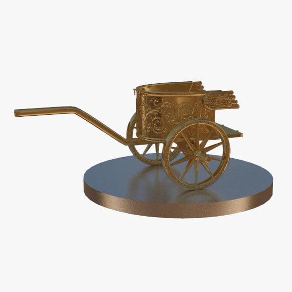 3d chariot lights model