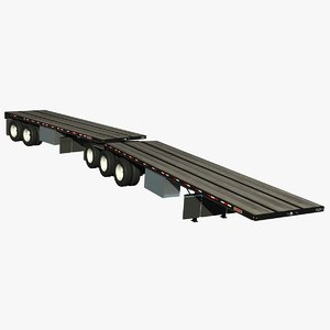trailer doepker flatbed lwo
