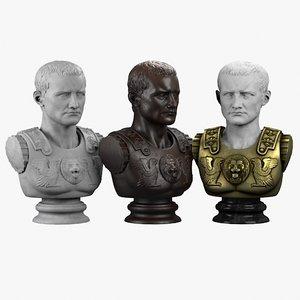 decorative bust roman max
