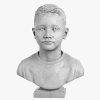 Male Kid Bust