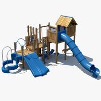 big playground 3d model